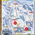 おじろスキー場ゲレンデマップ